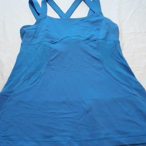 Lululemon Blue Tank with Pocket